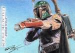 Star Wars GF - Boba Fett Sketch Card
