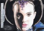 Star Wars GF - Senator Amidala Artist Return Card