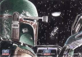 Star Wars G7 - Boba Fett Return Card (2pc) by DenaeFrazierStudios
