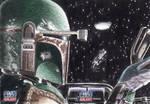 Star Wars G7 - Boba Fett Return Card (2pc)