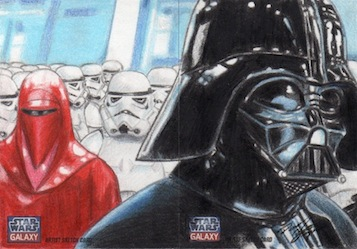 SWG7 - Vader w/Royal Guard and Stormtroopers (2pc) by DenaeFrazierStudios