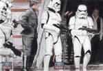 Star Wars G7 - Stormtroopers (2pc) Sketch Art Card