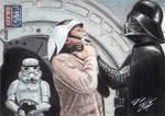 Star Wars G7 - Darth Vader Sketch Art Card