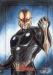 MGH Avengers - Nova Sketch Art Card