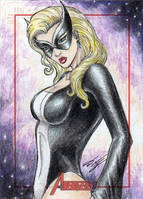 MGH Avengers - Mockingbird Sketch Art Card by DenaeFrazierStudios
