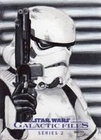 Star Wars GF S2 - Stormtrooper Return Card by DenaeFrazierStudios