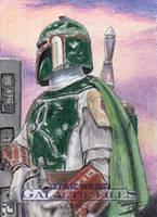 Star Wars GF S2 - Boba Fett Return Card 1 by DenaeFrazierStudios
