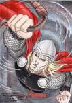 MGH Avengers - Thor Sketch Art Card