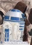 Star Wars GF - R2-D2 Sketch Card 1