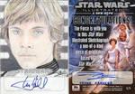 Star Wars Illustrated ANH - Luke Sketchagraph 1