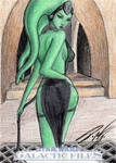 Star Wars GF - Oola Sketch Card 1