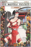 The Marvels Project - Elektra Sketch Comic Cover