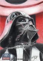 Star Wars G7 - Darth Vader Sketch Art Card 2 by DenaeFrazierStudios