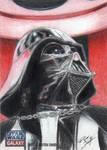 Star Wars G7 - Darth Vader Sketch Art Card 2