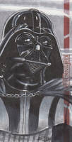 Star Wars ROTJ 3D - Darth Vader Sketch Card - ARC