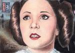 Star Wars G7 - Princess Leia Sketch Art Card 3
