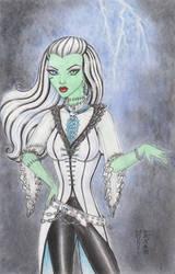 Frankie Stein Original Art by DenaeFrazierStudios