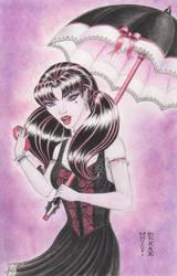 Draculaura Original Art by DenaeFrazierStudios
