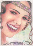 Star Wars Masterwork - Padme Amidala Sketch Card