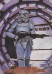 SW Masterwork - Stormtrooper (Wood) Sketch Card