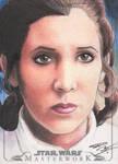 Star Wars Masterwork - Leia Sketch Art Card 3