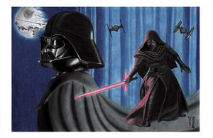 In Vader's Shadow by Denae Frazier by DenaeFrazierStudios