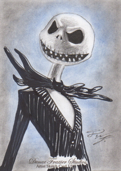 Jack Skellington SC 3 - Nightmare Before Christmas by DenaeFrazierStudios