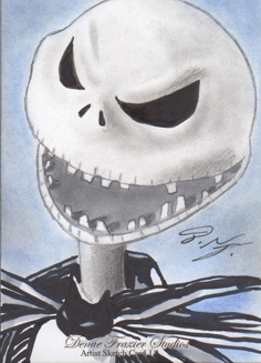 Jack Skellington SC 1 - Nightmare Before Christmas by DenaeFrazierStudios