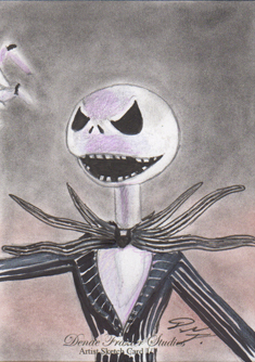 Jack Skellington SC 5 - Nightmare Before Christmas by DenaeFrazierStudios