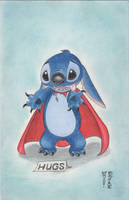 Stitch Original Art by Denae by DenaeFrazierStudios