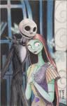 Jack and Sally Original Art by Denae