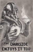 Star Wars - TIE Fighter Pilot Original Art Piece by DenaeFrazierStudios