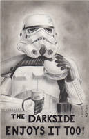 Star Wars - Sandtrooper Original Art Piece by DenaeFrazierStudios
