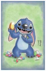 Stitch Easter by Denae by DenaeFrazierStudios