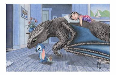 Off to Bed by Denae Frazier by DenaeFrazierStudios