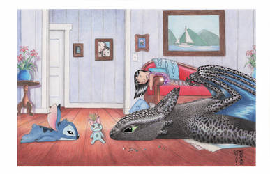 Boredom by Denae Frazier by DenaeFrazierStudios