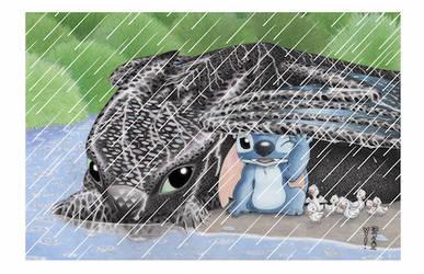 Sheltering Love Variant by Denae Frazier