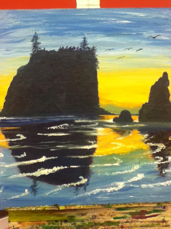 landscape by panellapie