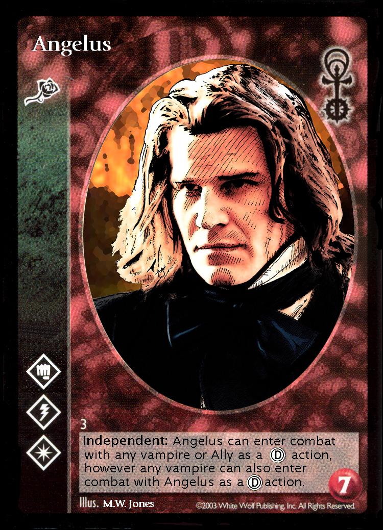 Angelus VTES CARD vampire the eternal struggle ccg by gothicnexus