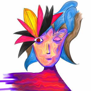 Untitled Lady #4