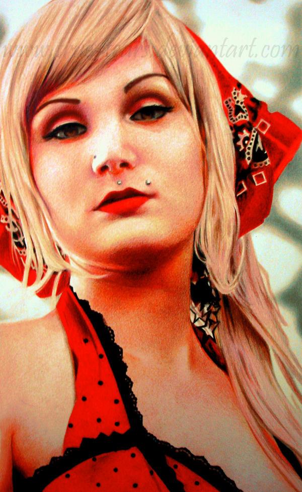 A Garota de Vermelho by True-Tears