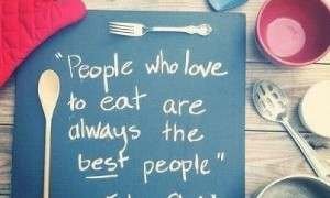 Food Quote #1 by ejlesny