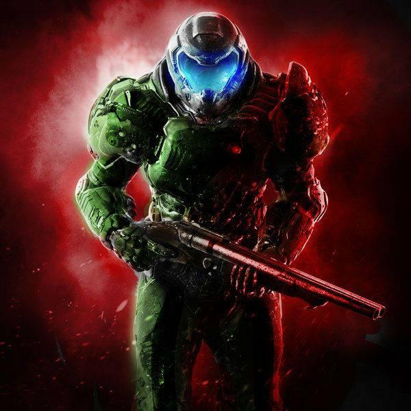 Classic Doom 4 guy by DoomGuy141 on DeviantArt