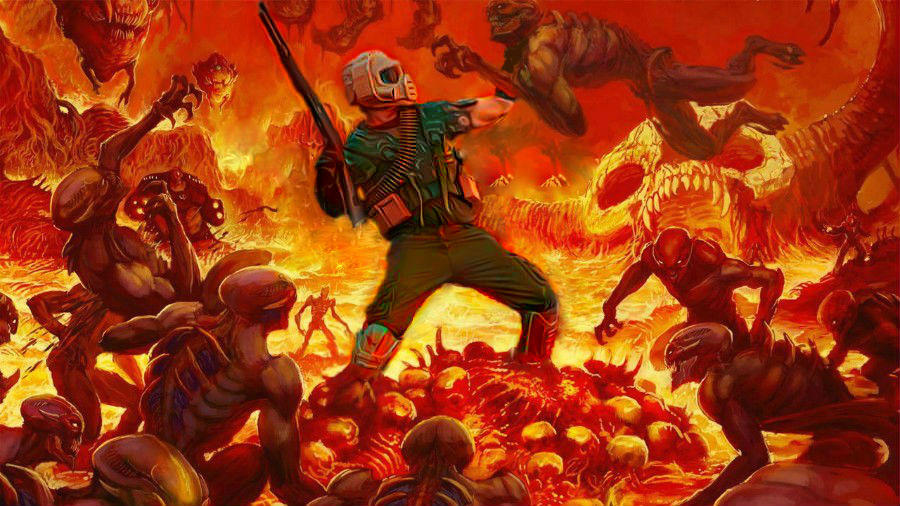 Doomguy Cosplay Hero Pose By Doomguy141 On Deviantart