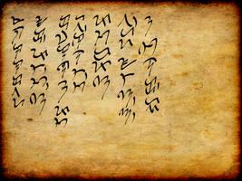 Baybayin Calligraphy by AlakdangBato