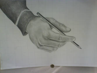 Pencil in Hand by gikas