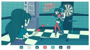 Dangan Academy: Pinned [Games P3] by PetiteTarte