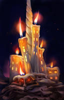 Houses Of Candle by irenetall