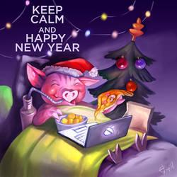 happy new year! by irenetall