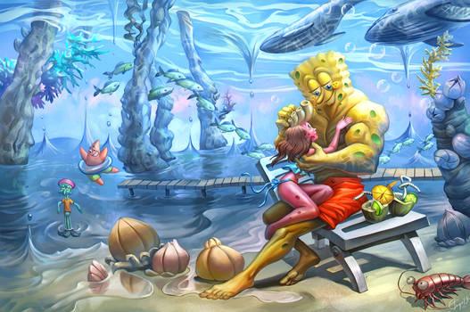 Spongebob and Laura